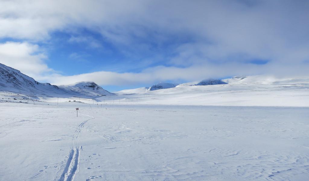 Vinterleden mot Sylarna.