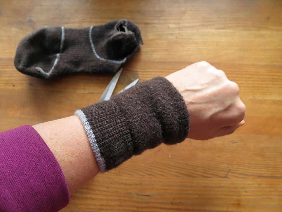 Fixa handledsmuddar själv