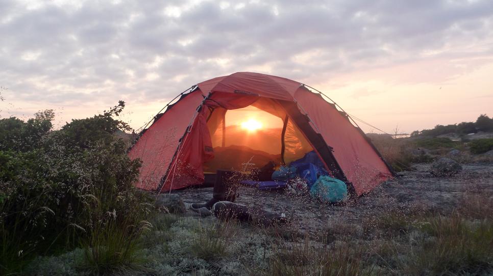 Hillebergs fyrasäsongs tält Staika
