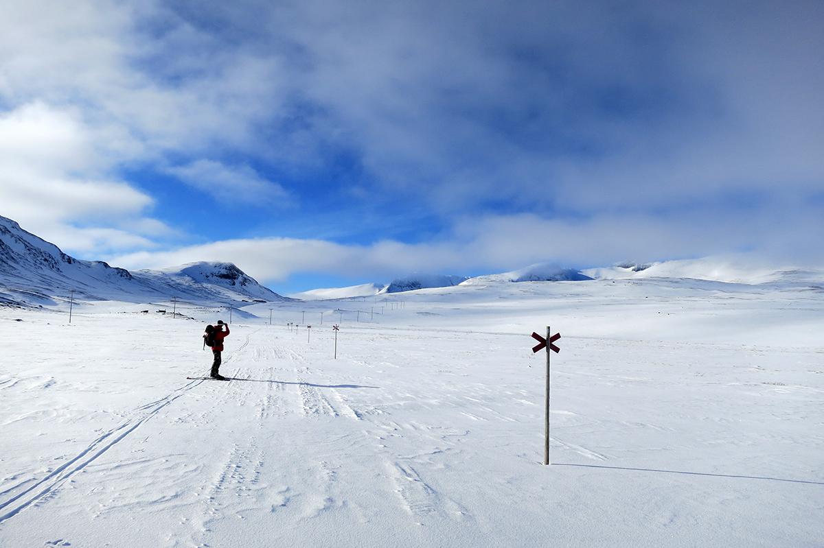 Vinterleden mot Sylarna