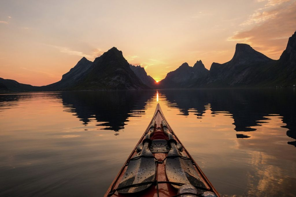 Norge paddling