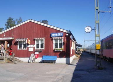 Murjekstation med kiosk
