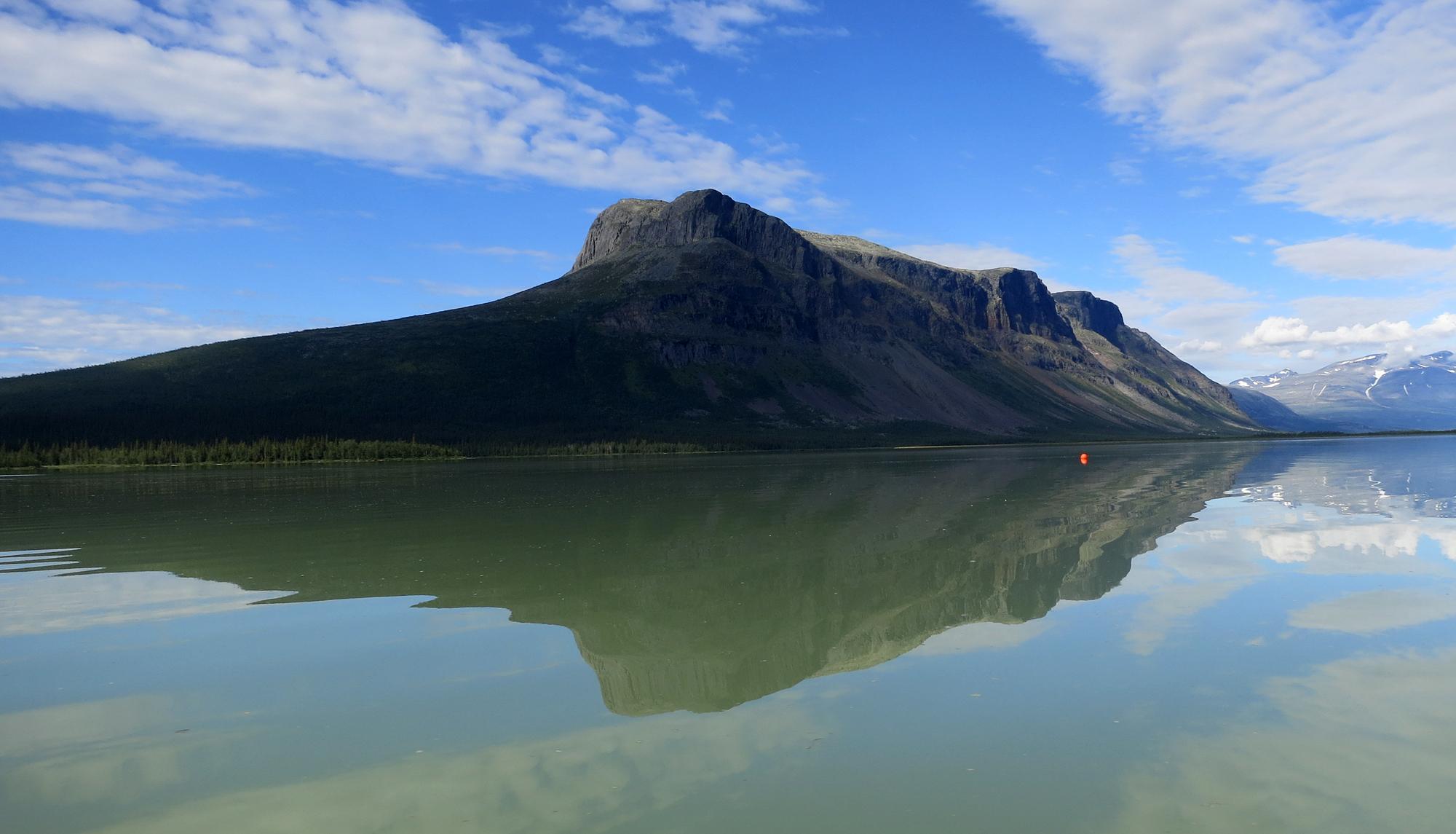 Berget Tjahkelij vid Aktse