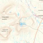 Karta över Helags