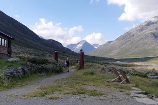 Starten in i Visdalen.