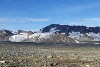 Veobreans glaciärtungor